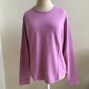 Banana Republic silk/nylon/angora crewneck sweater